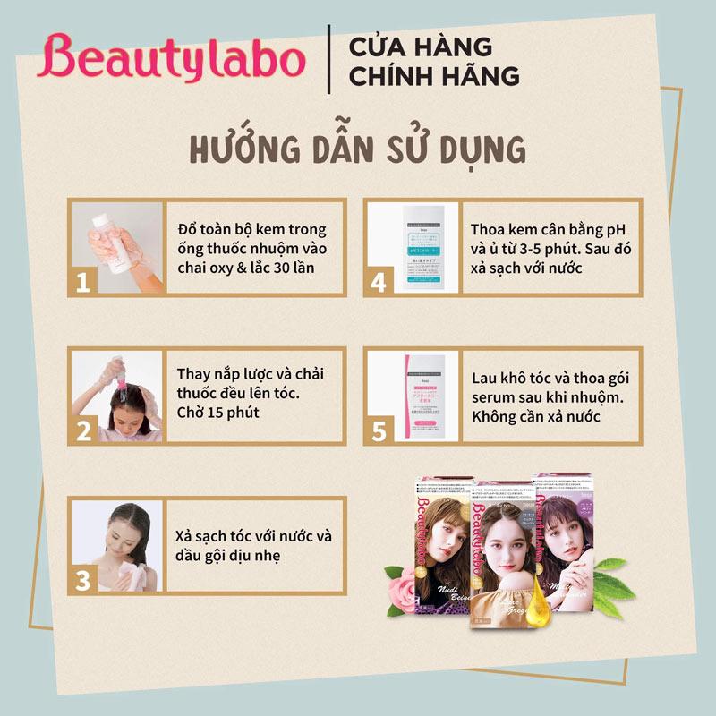 Kem Nhuộm Tóc Beautylabo Vanity Color là giải pháp nhuộm tóc tại nhà cho giới trẻ