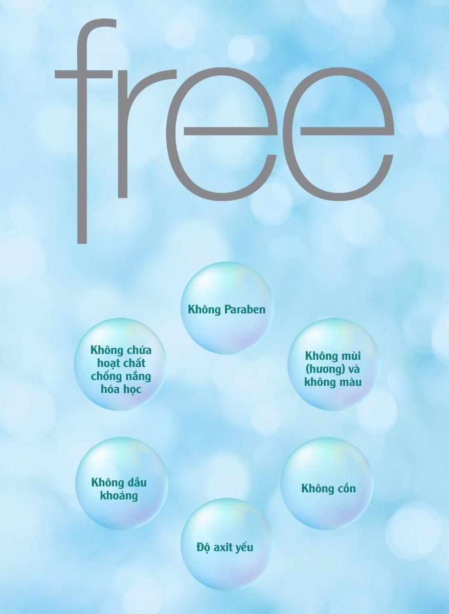 Kem Tẩy Trang Freeplus Mild Cream Cleanser an toàn và dịu nhẹ cho làn da nhạy cảm