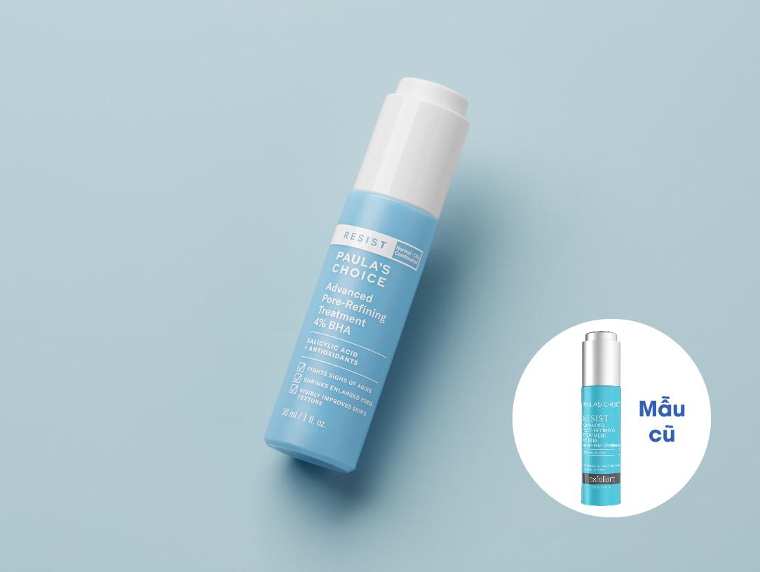 Lotion Tái Tạo & Hỗ Trợ Phục Hồi Da Mụn Paula's Choice Resist Advanced Pore Refining Treatment 4% BHA