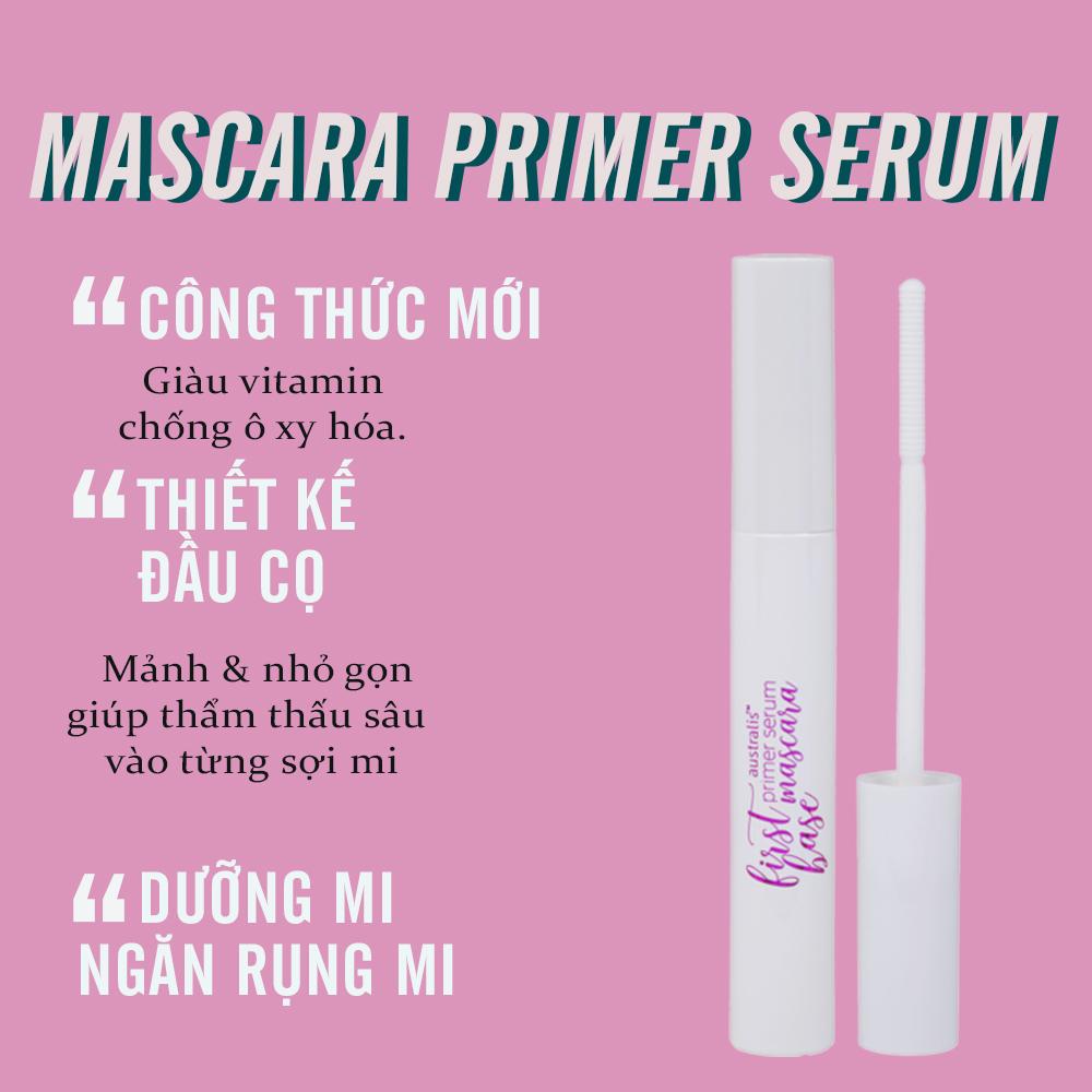 Mascara Lót Dưỡng Mi Australis First Base Primer Serum hiện đã có mặt tại Hasaki