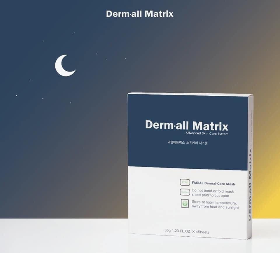 Mặt Nạ Derm All Matrix Facial Dermal-Care Mask hiện đã có mặt tại Hasaki
