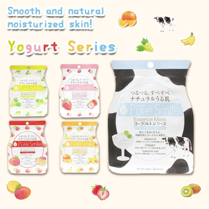 Mặt Nạ Pure Smile Essence Mask Yogurt Series Chiết Xuất Sữa Chua