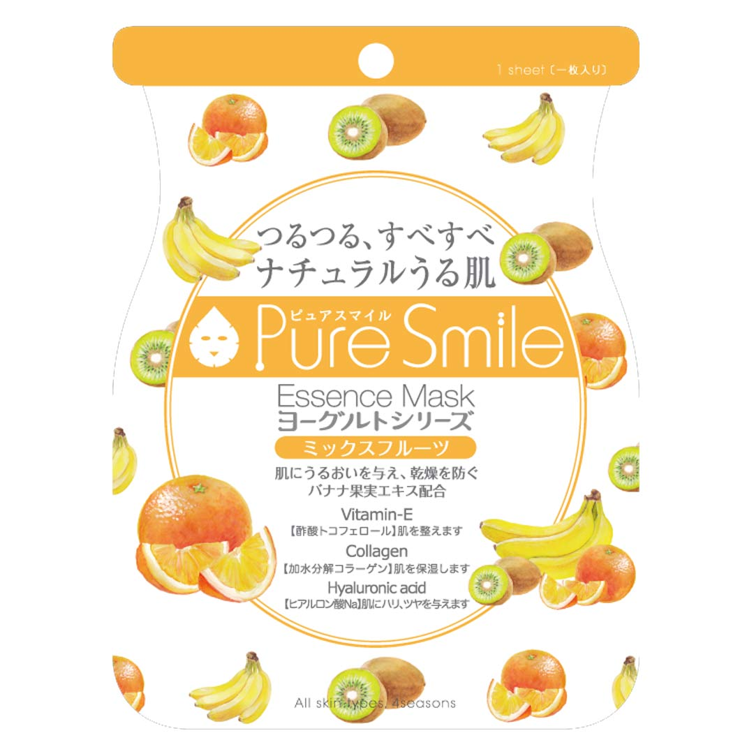 Mặt Nạ Dưỡng Da Chiết Xuất Trái Cây Pure Smile Essence Mask Yogurt Series Mix Fruit 23ml hiện đã có mặt tại Hasaki