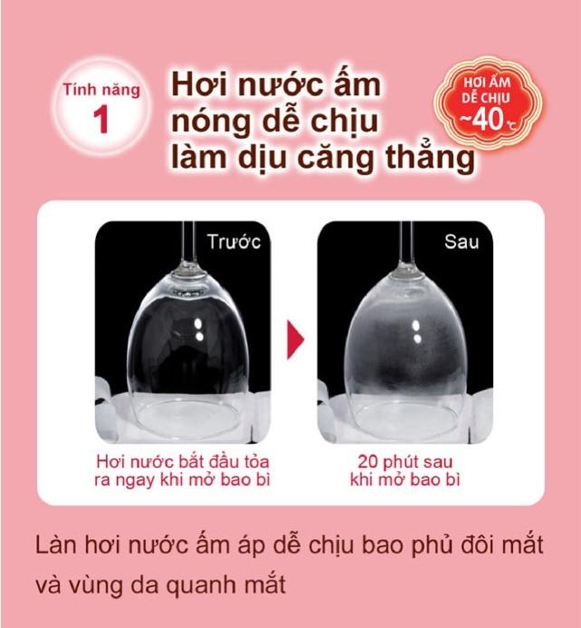 Mặt Nạ Xông Hơi Mắt MegRhythm Không Hương 5 Miếng | Hasaki.vn