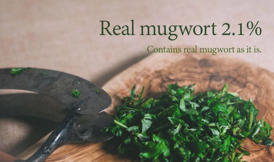 Mặt Nạ I'm from Mugwort Mask chứa 2.1% chiết xuất Ngải Cứu Hàn Quốc