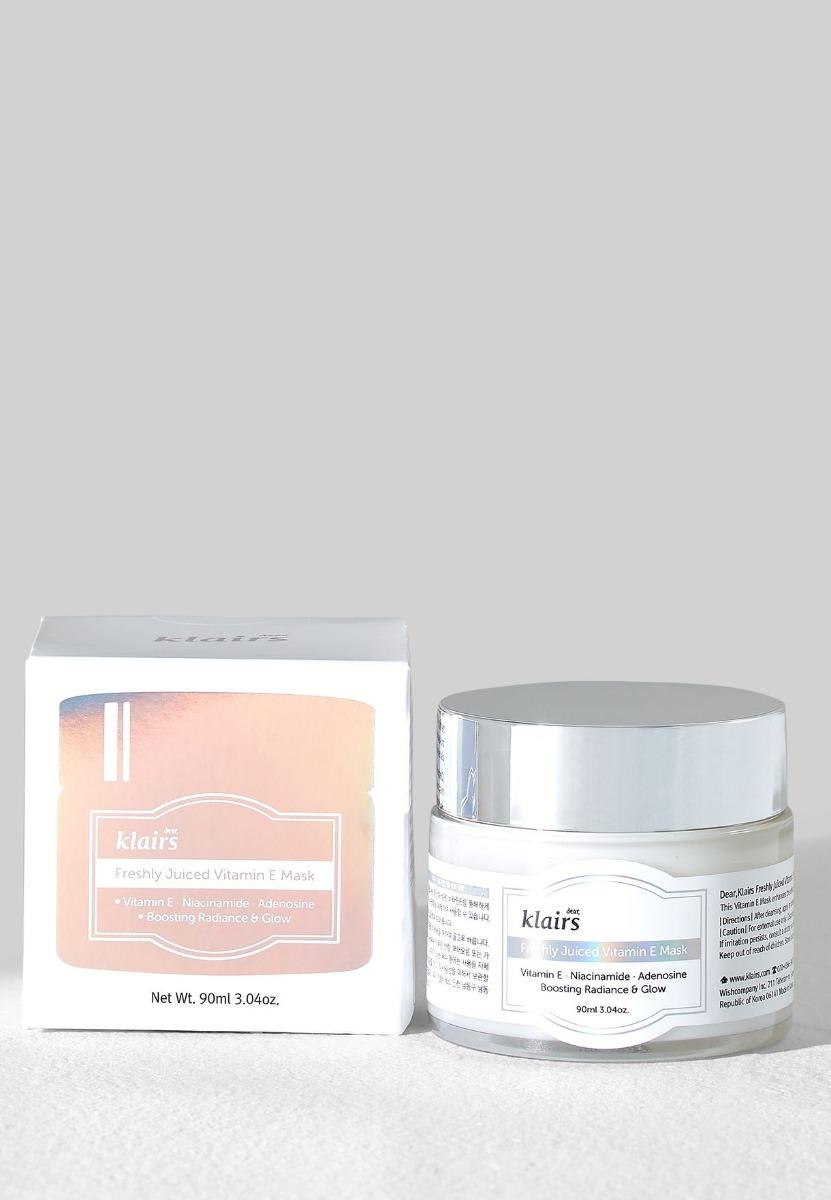Mặt Nạ Ngủ Dưỡng Da 2 Trong 1 Klairs Freshly Juiced Vitamin E Mask