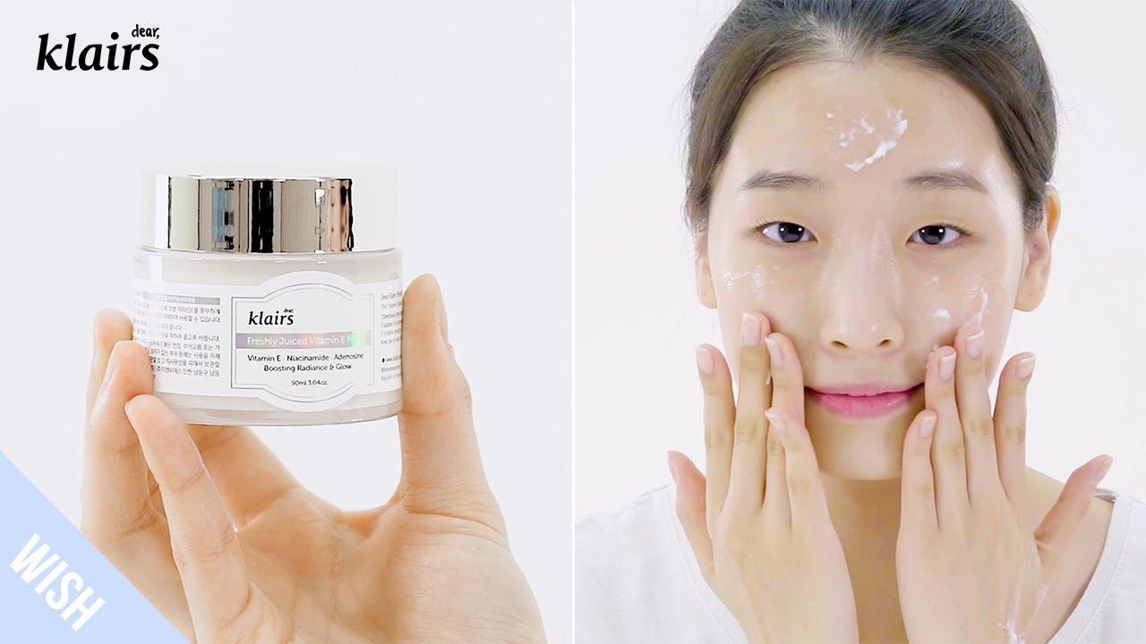 Mặt Nạ Ngủ Dưỡng Da 2 Trong 1 Klairs Freshly Juiced Vitamin E Mask hiện đã có mặt tại Hasaki