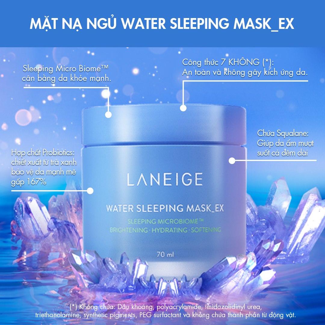 Mặt Nạ Ngủ Phiên Bản Cải Tiến LANEIGE Water Sleeping Mask_EX Mới