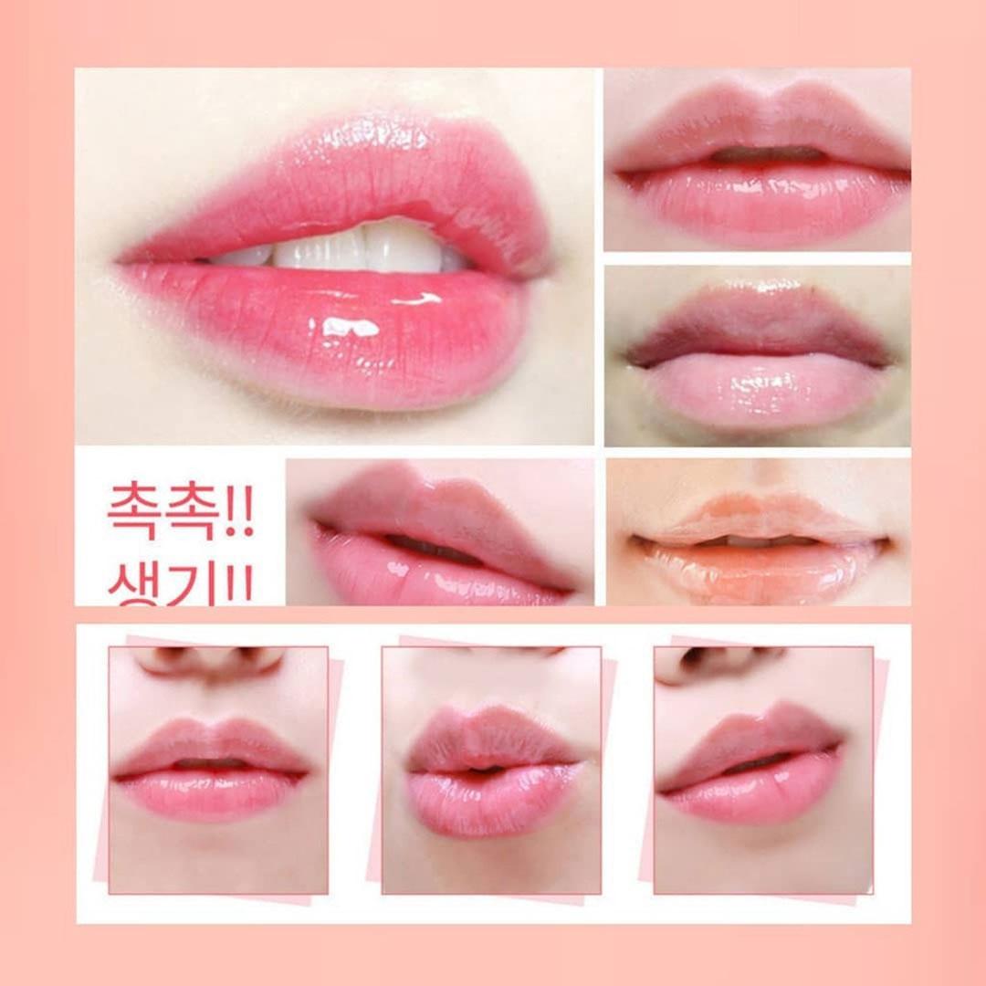 Mặt Nạ Ngủ Môi CARE:NEL Lip Night Mask dưỡng ẩm, làm hồng môi và tẩy tế bào chết cho môi