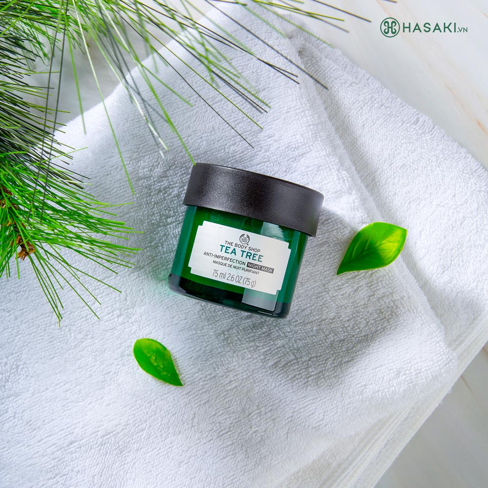 Mặt Nạ Ngủ The Body Shop Tea Tree Anti-Imperfection Night Mask