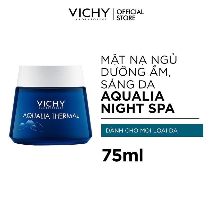 Mặt Nạ Ngủ Cung Cấp Nước Vichy Aqualia Thermal Night Spa