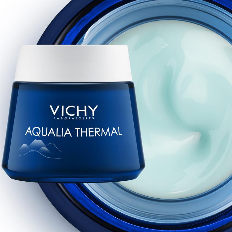 Mặt Nạ Ngủ Cung Cấp Nước Vichy Aqualia Thermal Night Spa 15ml