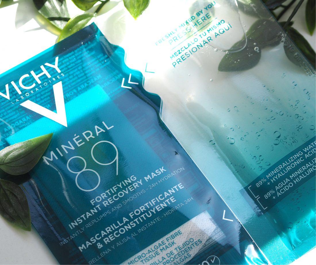 Mặt Nạ Vichy Minéral 89 Fortifying Recovery Mask thuộc dòng sản phẩm Minéral 89 nổi tiếng đến từ thương hiệu Vichy