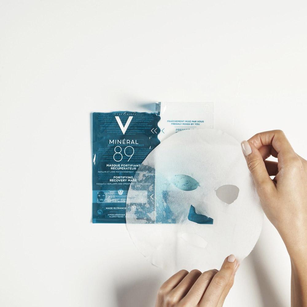 Mặt Nạ Khoáng Chất Cô Đặc Giúp Phục Hồi & Cấp Ẩm Da Tức Thì Vichy Minéral 89 Fortifying Recovery Mask 29g