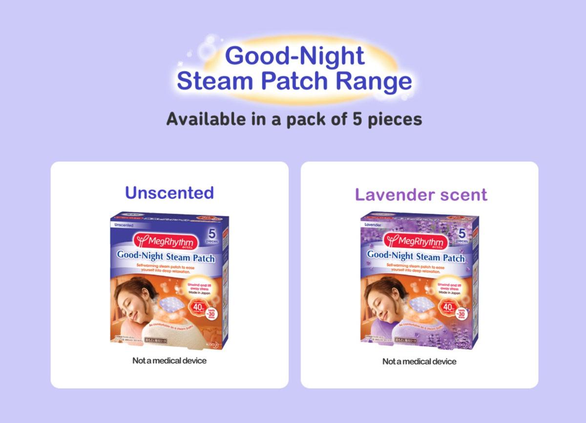 Miếng Dán Thư Giãn Vùng Cổ MegRhythm Good-Night Steam Patch (5 Miếng) hiện đã có mặt tại Hasaki với 2 phân loại cho bạn lựa chọn.