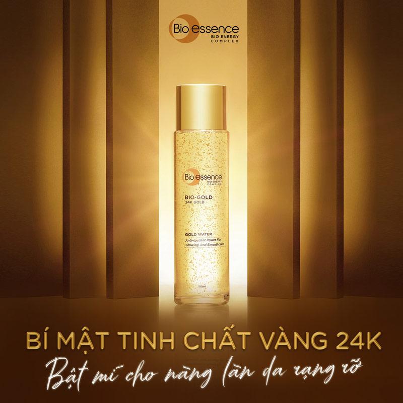 Nước Dưỡng Bio-essence Ngừa Lão Hóa Chiết Xuất Vàng 24K Bio Gold Water