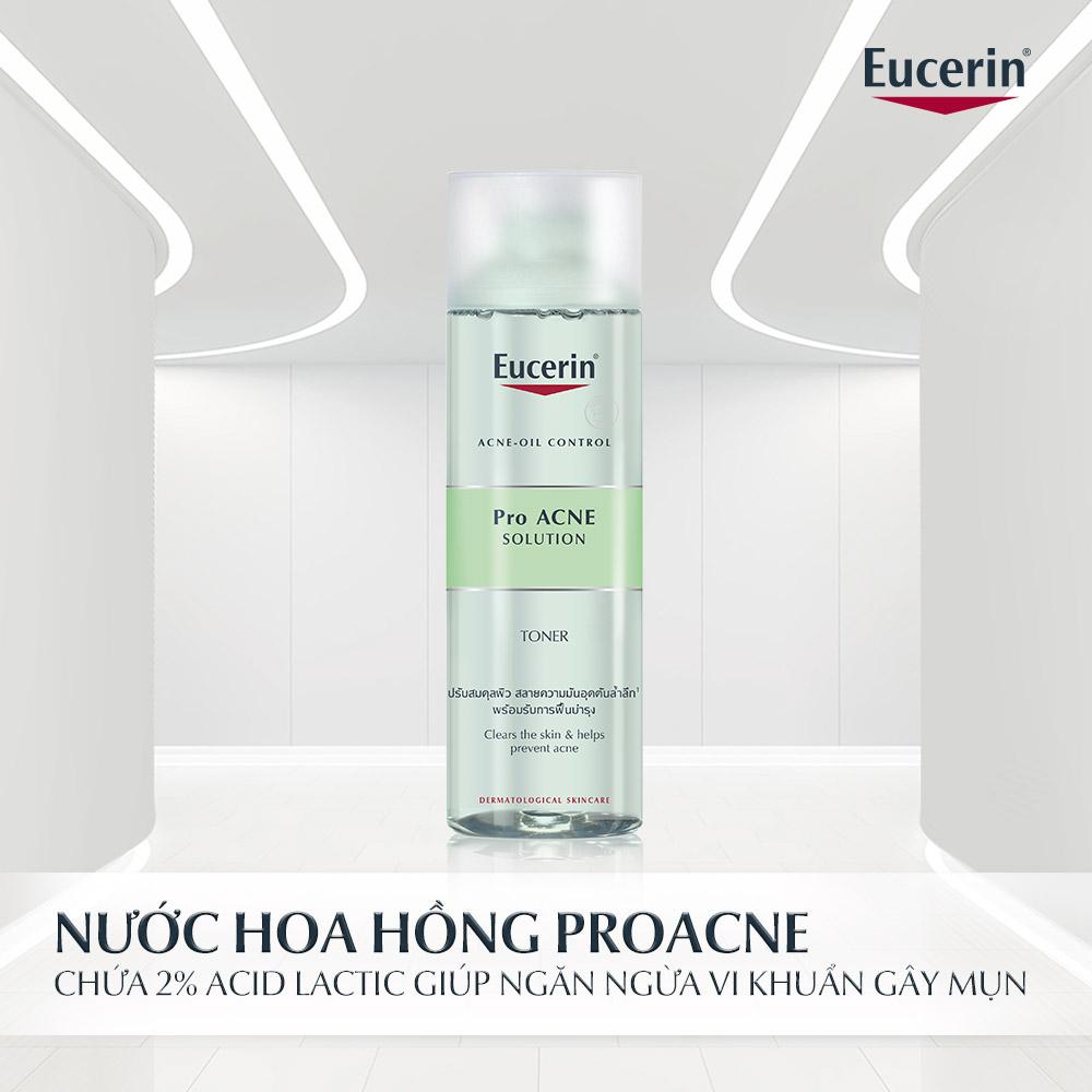 Nước Hoa Hồng Dành Cho Da Mụn Eucerin Pro ACNE Solution Toner 200ml hiện đã có mặt tại Hasaki