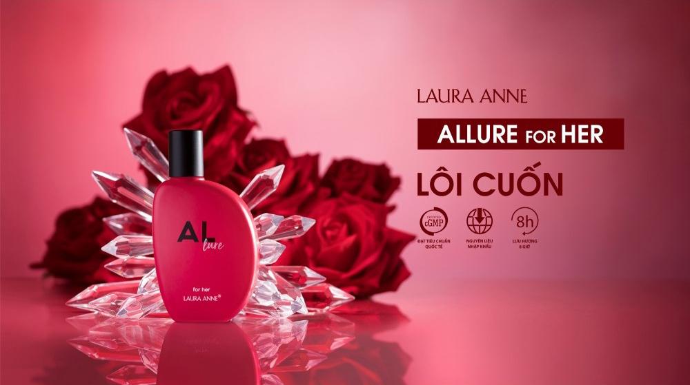 Nước Hoa Nữ Laura Anne Allure For Her Eau De Parfum