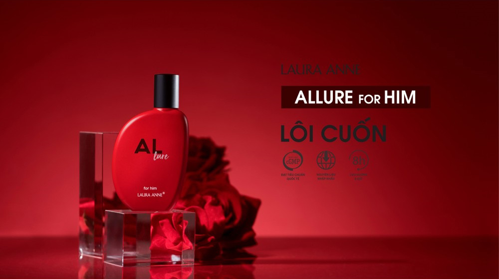Nước Hoa Nam Laura Anne Allure For Him Eau De Parfum