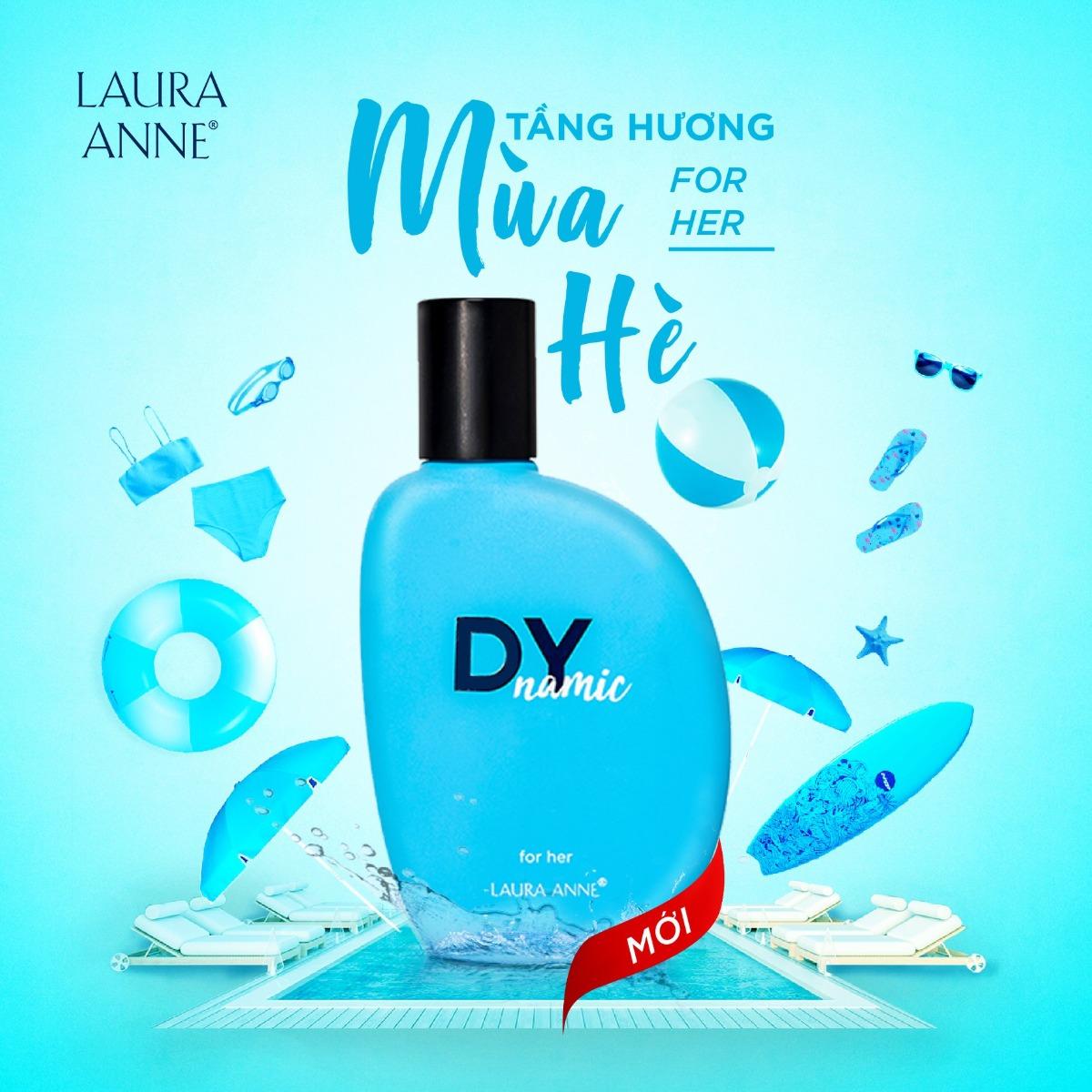 Nước Hoa Nữ Laura Anne Dynamic For Her Eau De Parfum