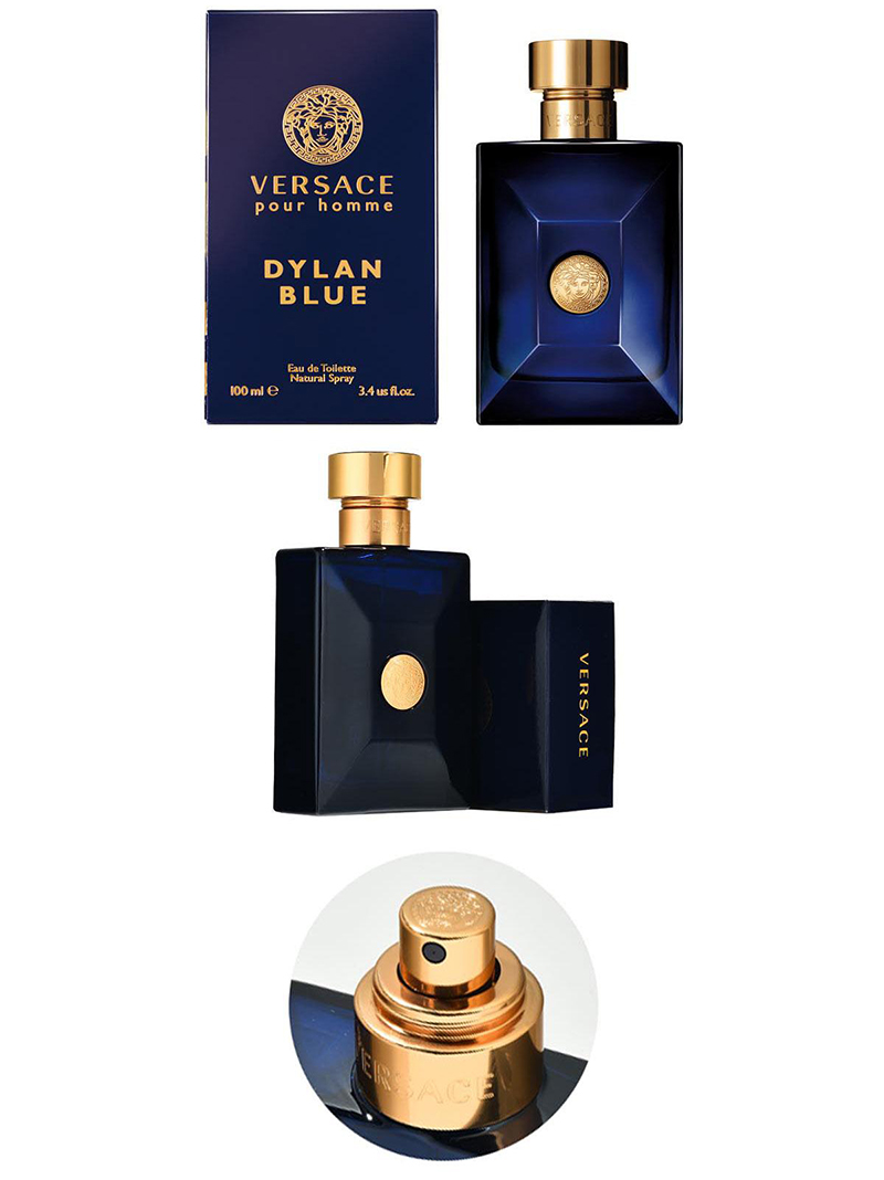 Nước Hoa Versace Pour Homme Dylan Blue EDT có thiết kế tinh xảo và quyến rũ