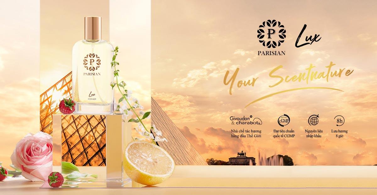 Nước Hoa Nữ Parisian Lux For Her Eau de Parfum