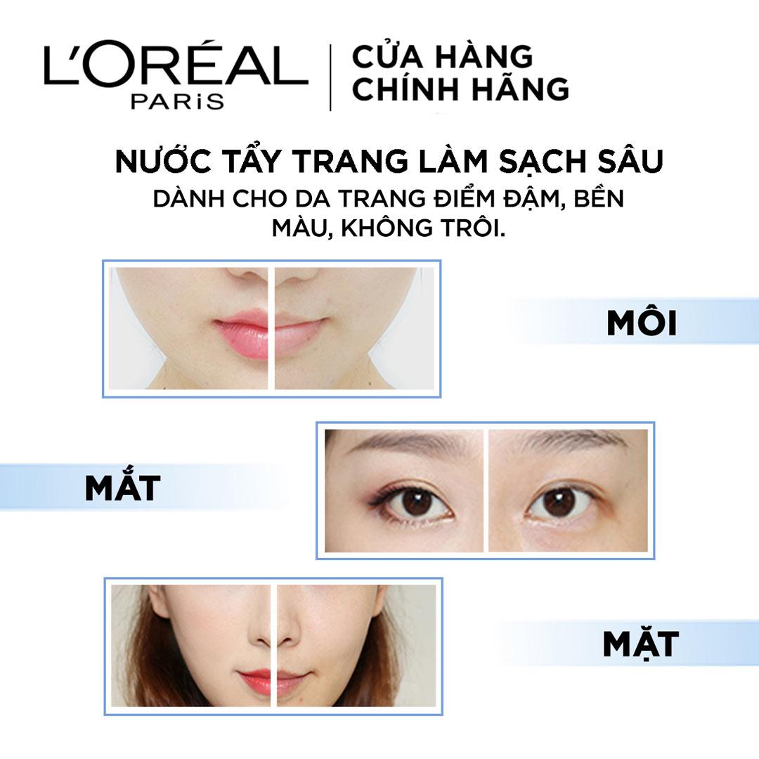 Nước Tẩy Trang L'Oreal Micellar Water 3-in-1 Deep Cleansing Even For Sensitive Skin hiện đã có mặt tại Hasaki