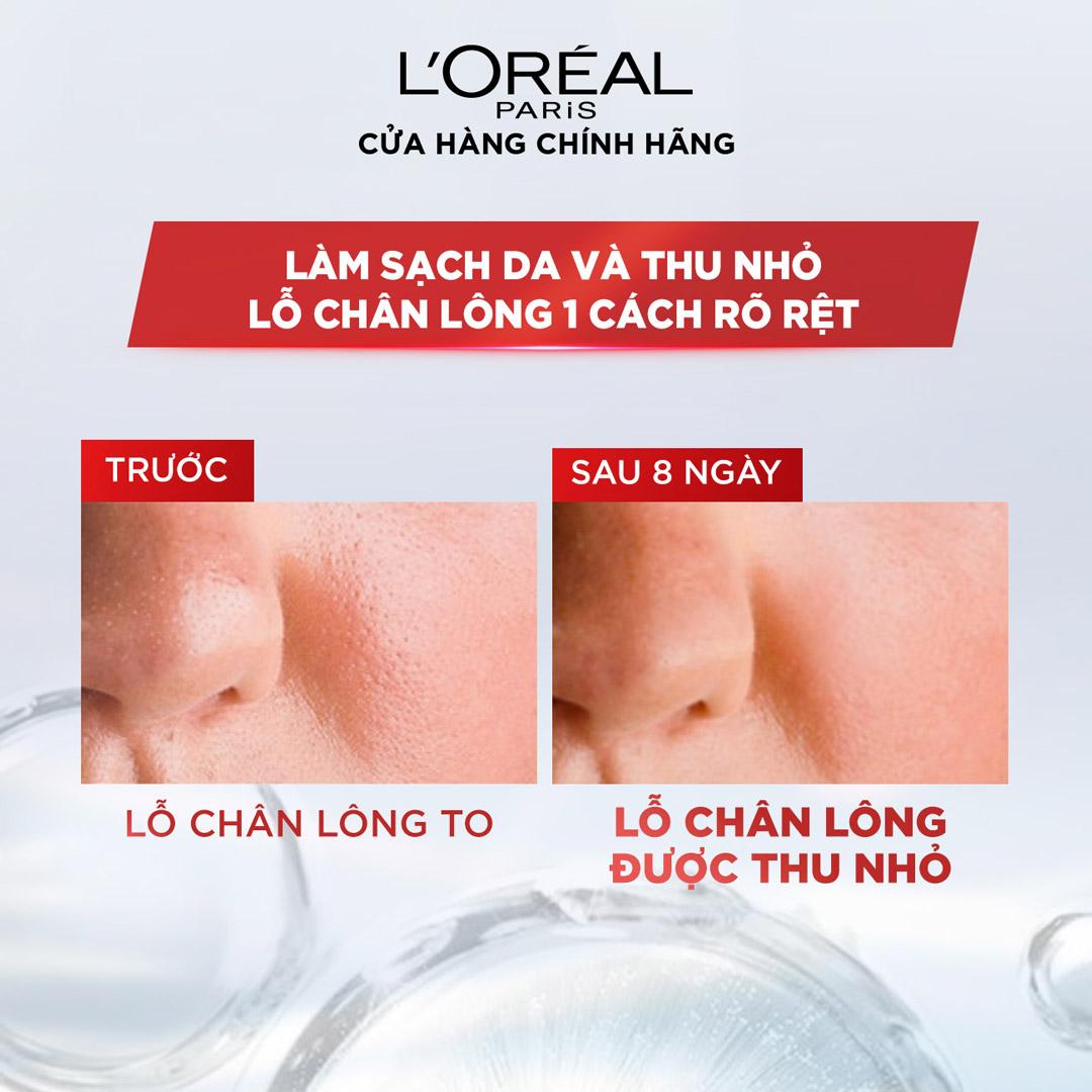 Nước Tẩy Trang L'Oréal Paris Revitalift Crystal Purifying Micellar Water Dành Cho Da Dầu 400ml