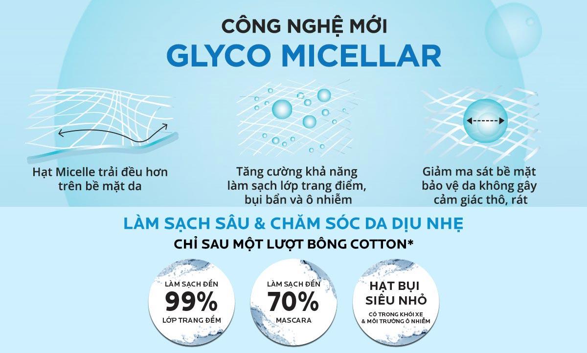 Nước Tẩy Trang La Roche-Posay Micellar Water Ultra Sensitive Skin ứng dụng công nghệ Glyco Micellar mang lại hiệu quả làm sạch sâu vượt trội giúp lấy đi bụi bẩn, bã nhờn và lớp trang điểm nhưng vẫn an toàn cho làn da nhạy cảm.