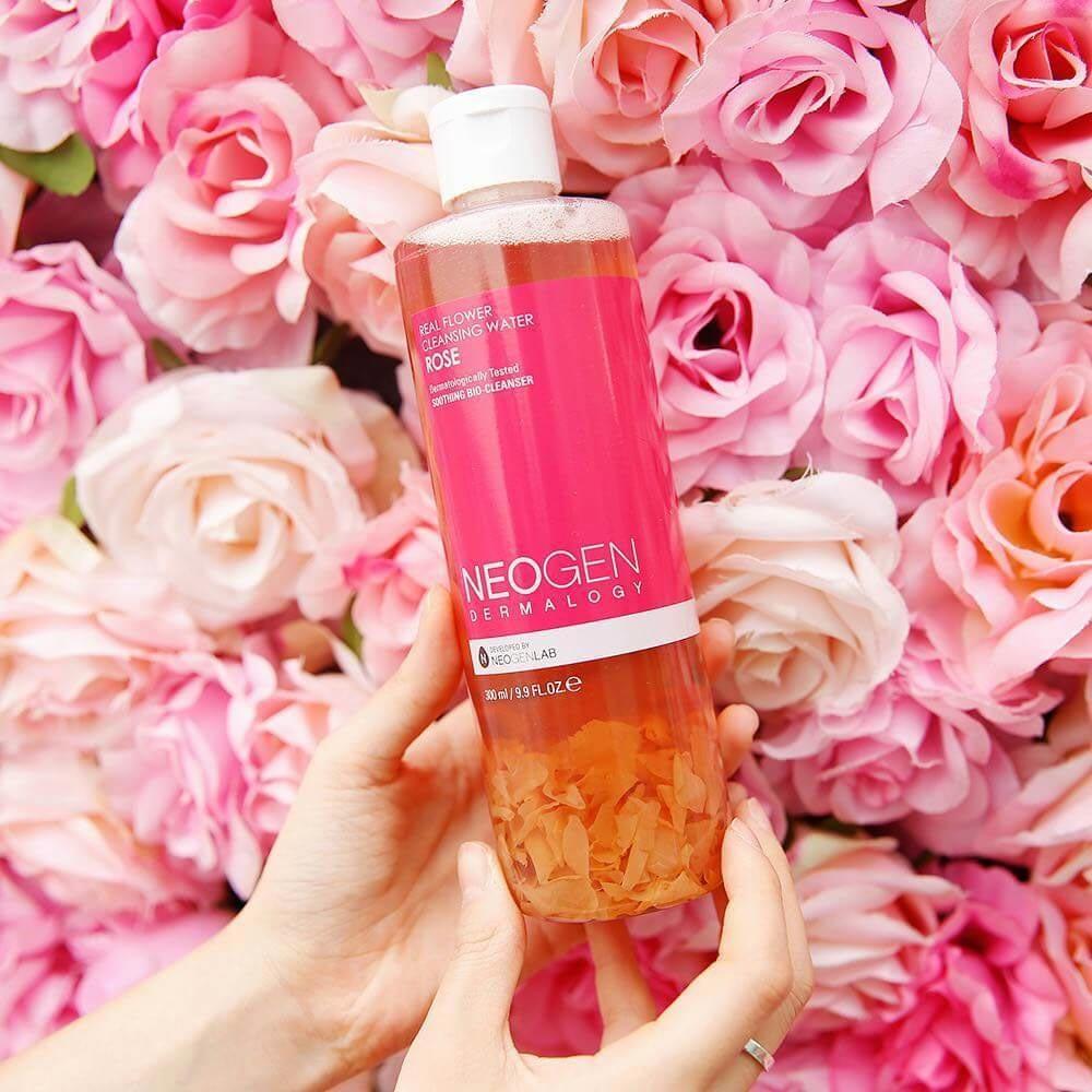 Nước Tẩy Trang Neogen Dermalogy Real Flower Cleansing Water Rose 300ml hiện đã có mặt tại Hasaki