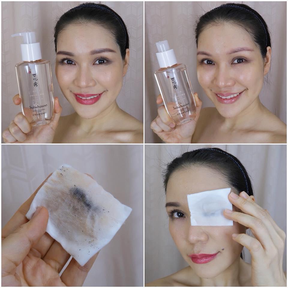 Nước Tẩy Trang Sulwhasoo dịu nhẹ, không gây kích ứng hay khô căng da