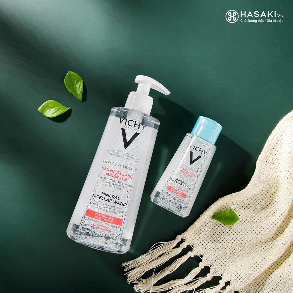 Nước Tẩy Trang Vichy Cho Da Nhạy Cảm Pureté Thermale Mineral Micellar Water For Sensitive Skin