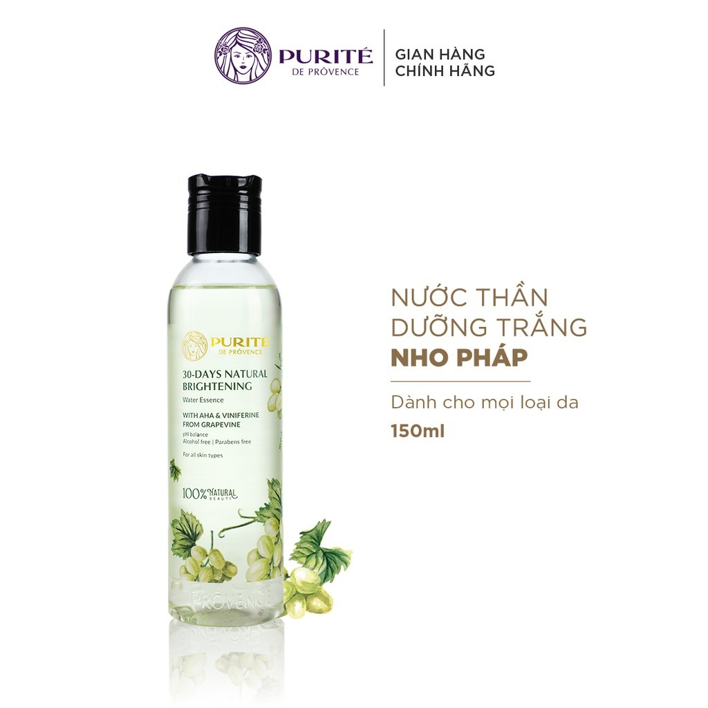 Nước Cân Bằng Da Purité 30-days Natural Brightening Water Essence