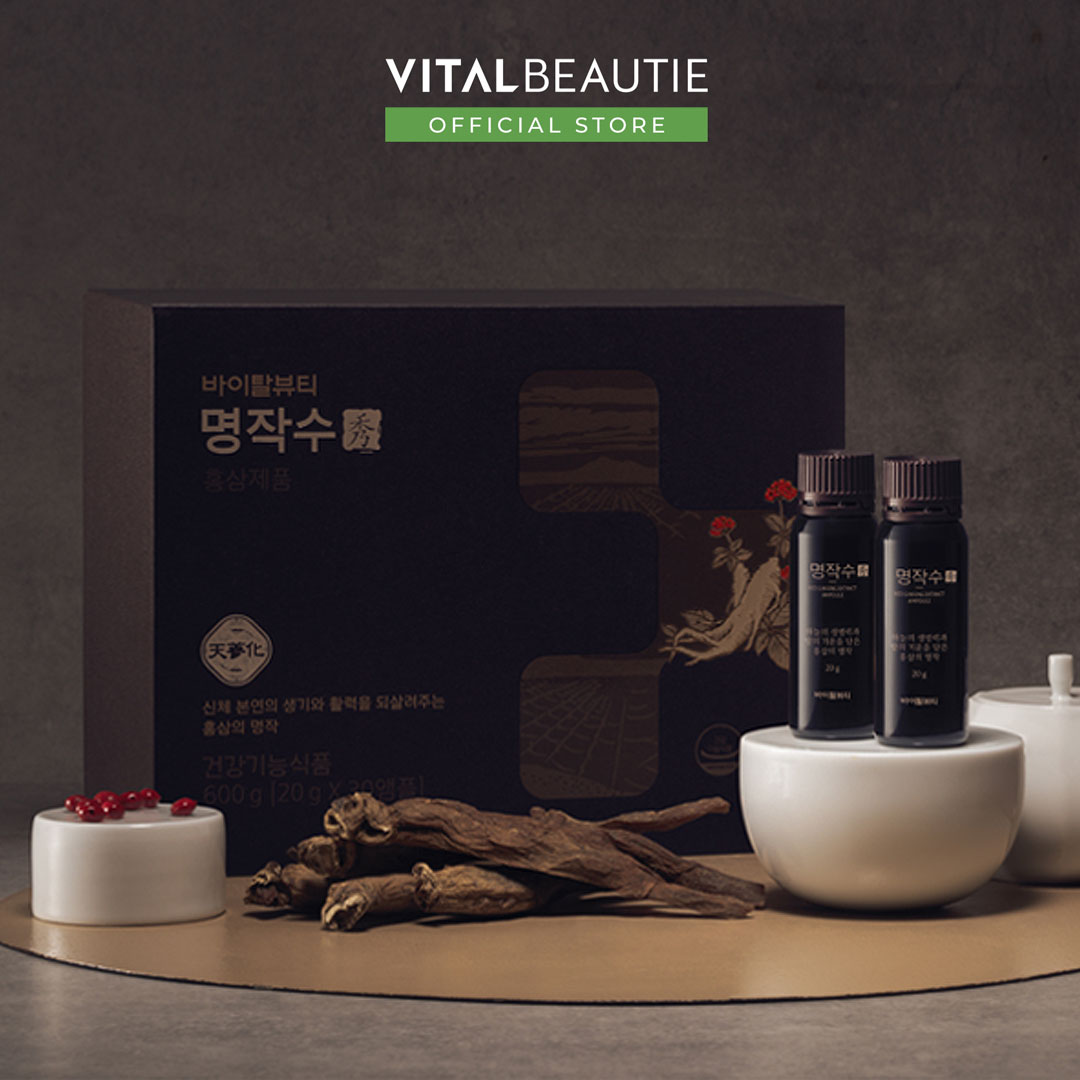 Nước Uống Hồng Sâm Vital Beautie Red Ginseng Ampoule
