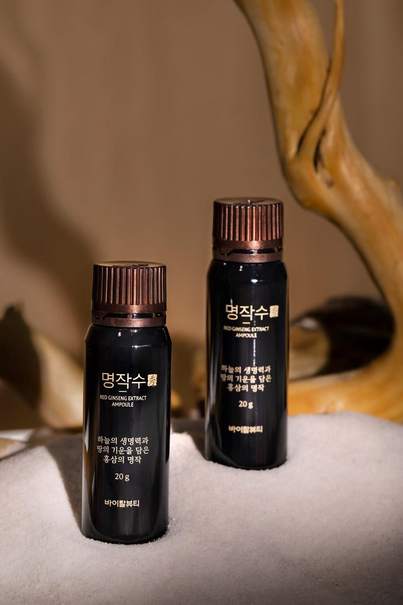 Nước Uống Hồng Sâm Hồi Phục Sinh Khí Vital Beautie Red Ginseng Ampoule nhập khẩu chính hãng Hàn Quốc