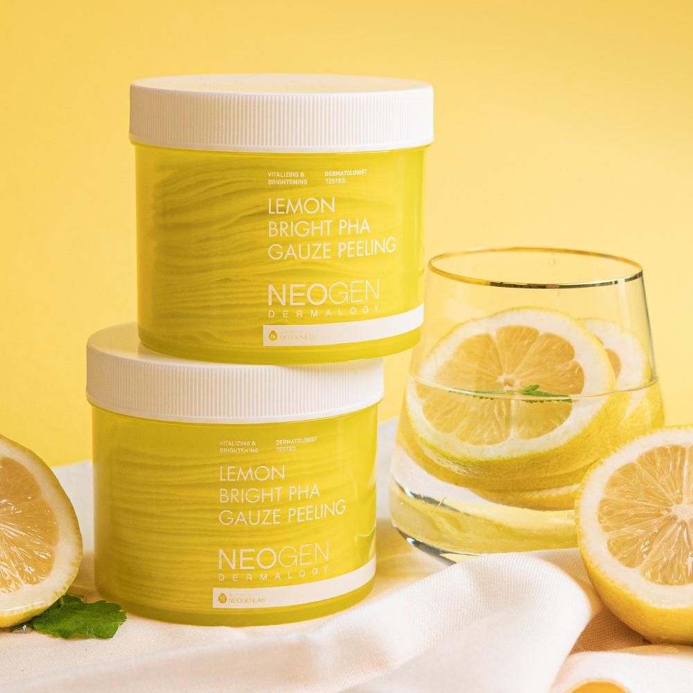 Pad Tẩy Da Chết Chanh Neogen Dermalogy Lemon Bright PHA Gauze Peeling hiện đã có mặt tại Hasaki