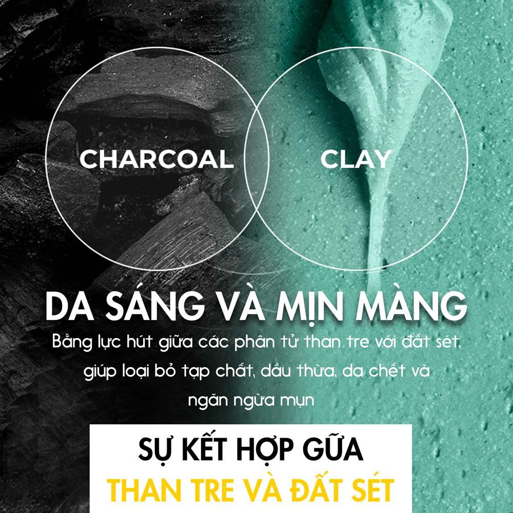 Pad Tẩy Da Chết Neogen Dermalogy Real Charcoal Pad giúp mang lại làn da sáng mịn màng.