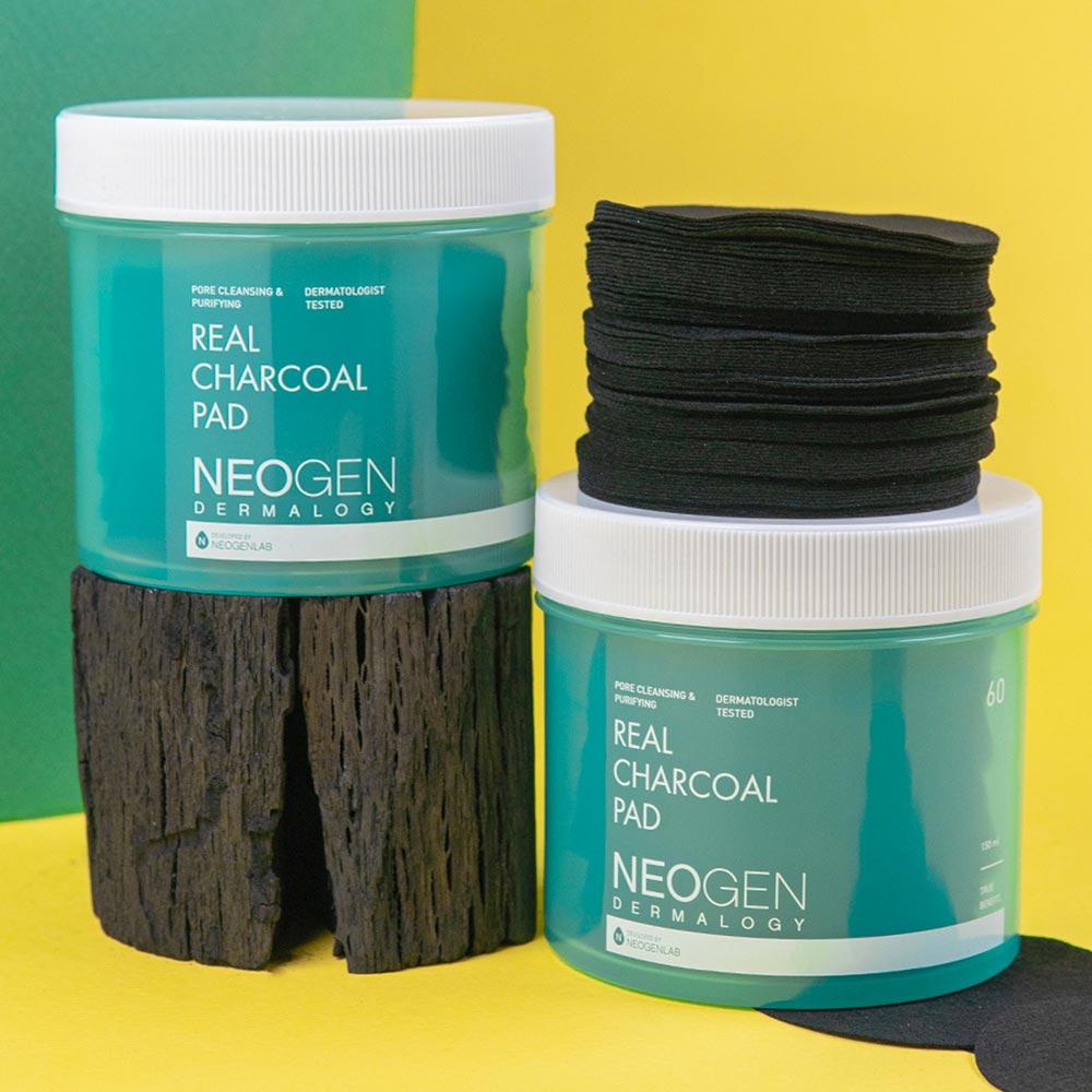 Pad Tẩy Da Chết Than Tre Neogen Dermalogy Real Charcoal Pad hiện đã có mặt tại Hasaki