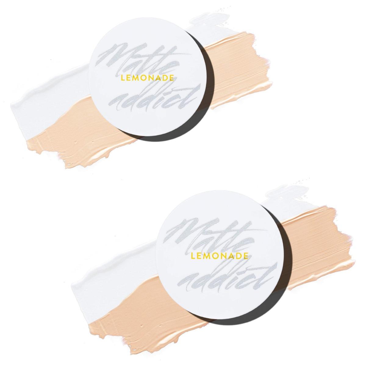 Kết quả hình ảnh cho Phấn Nước Kiềm Dầu Hai Công Dụng Lemonade Matte Addict Dual Cushion 14g A02 Natural