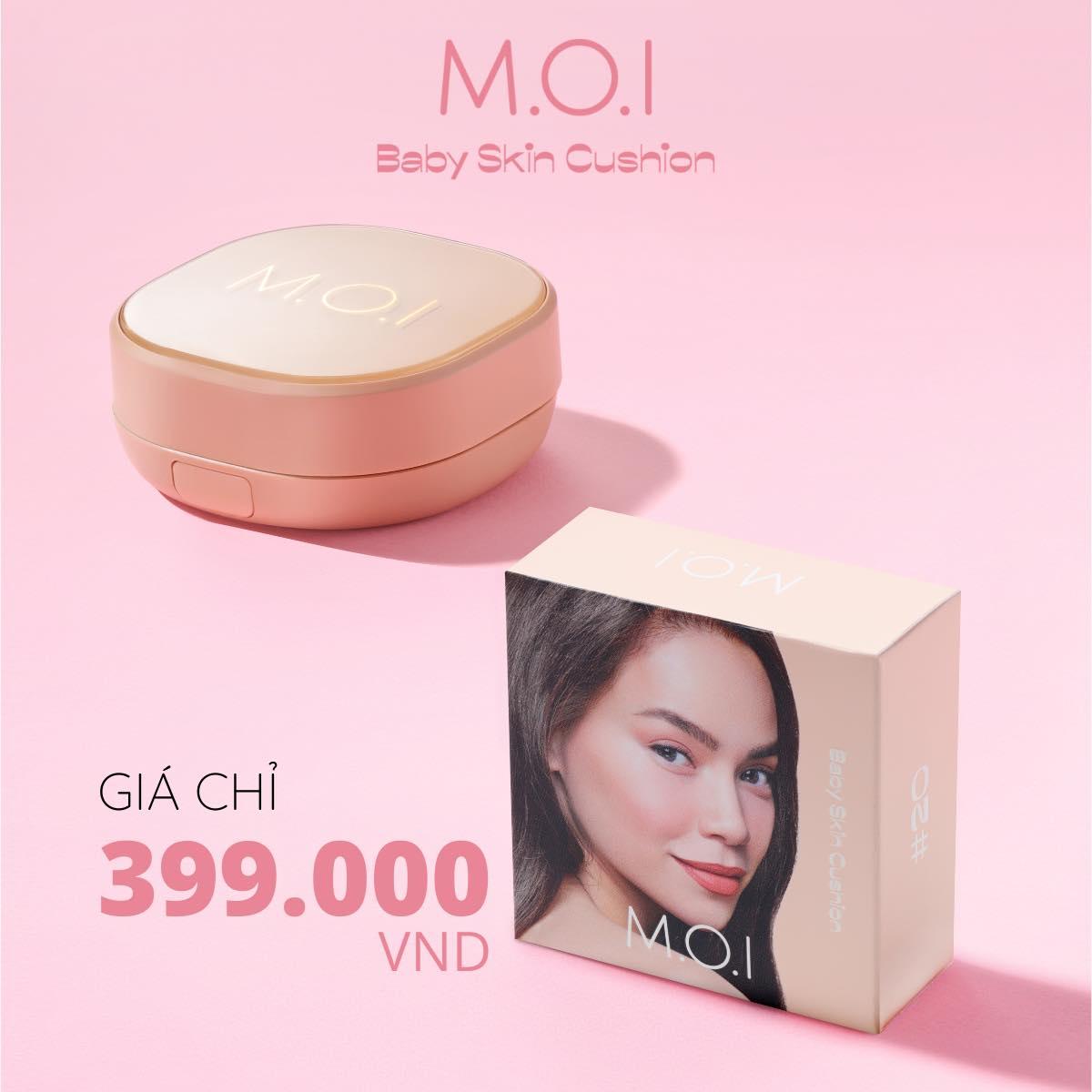 Mua ngay Phấn Nước M.O.I Baby Skin Cushion chỉ với 399.000đ