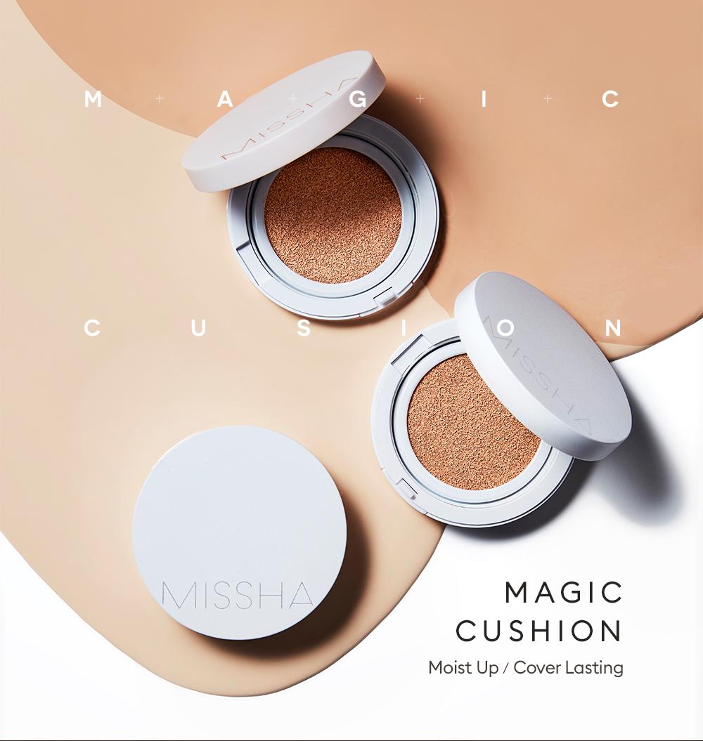 Kết quả hình ảnh cho Cushion Missha M Magic #21 Light Beige