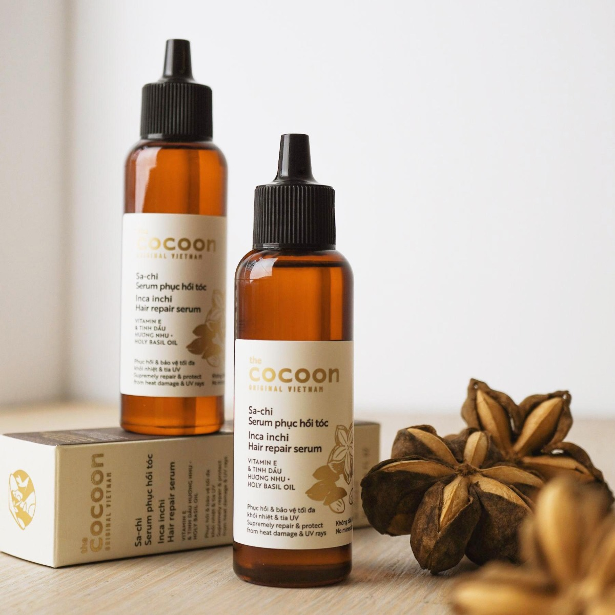Serum dưỡng tóc Hỗ Trợ Phục Hồi Tóc Cocoon