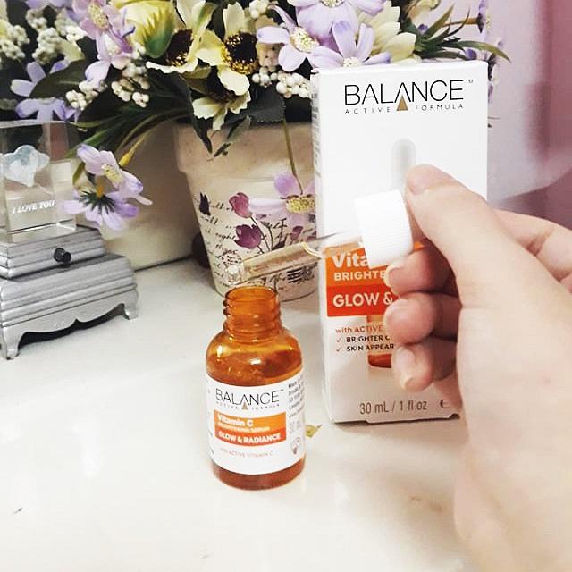 Review Serum Balance Vitamin C: giá bình dân, kết quả bất ngờ