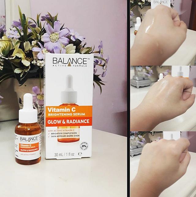 Review Serum Balance Vitamin C