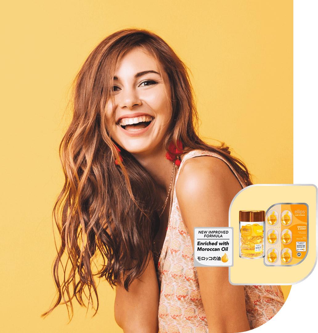 Mua Serum Dưỡng Tóc Ellips Hair Vitamin Moroccan Oil Smooth & Shiny tại Hasaki