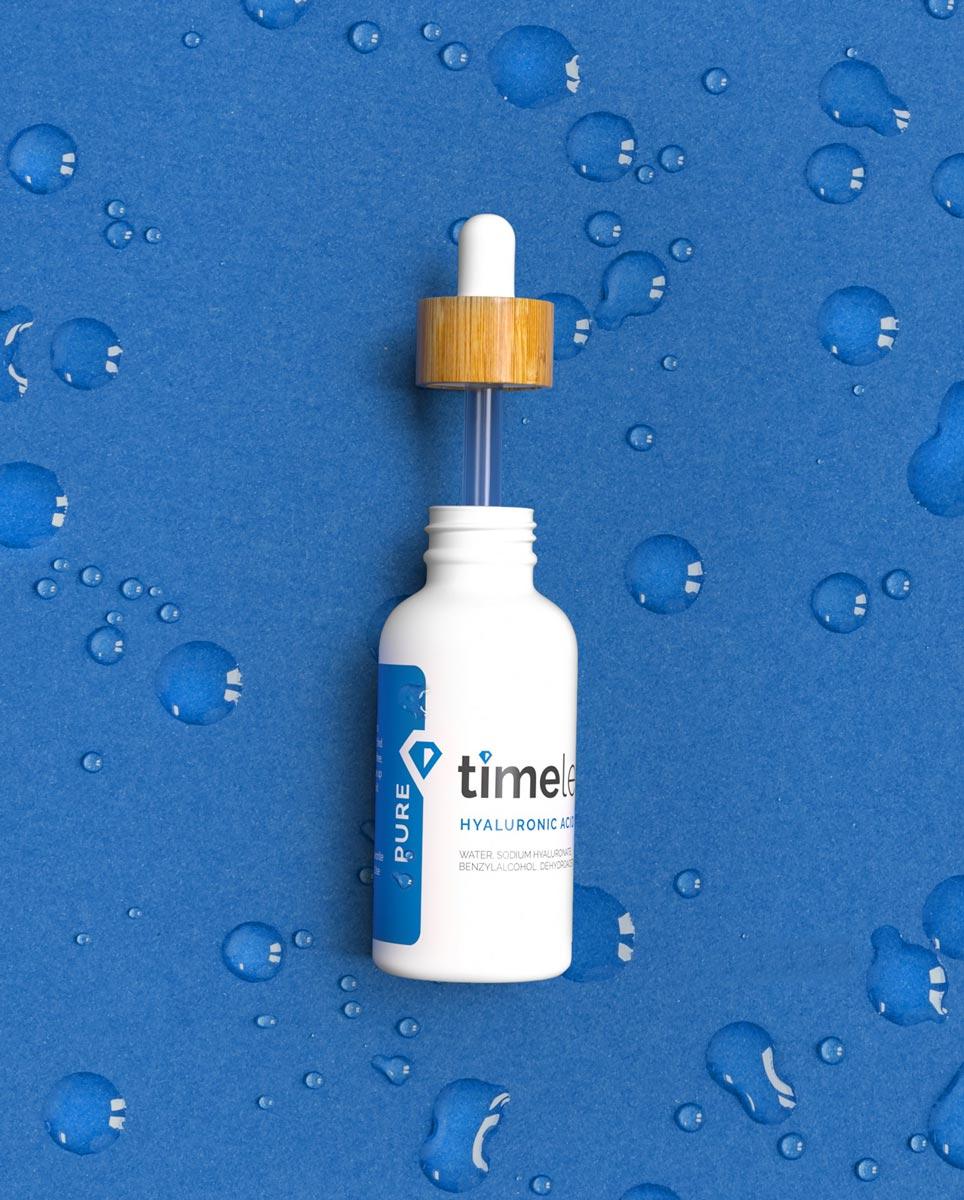 Tinh Chất Timeless Hyaluronic Acid Serum 100% Pure cấp nước, dưỡng ẩm da