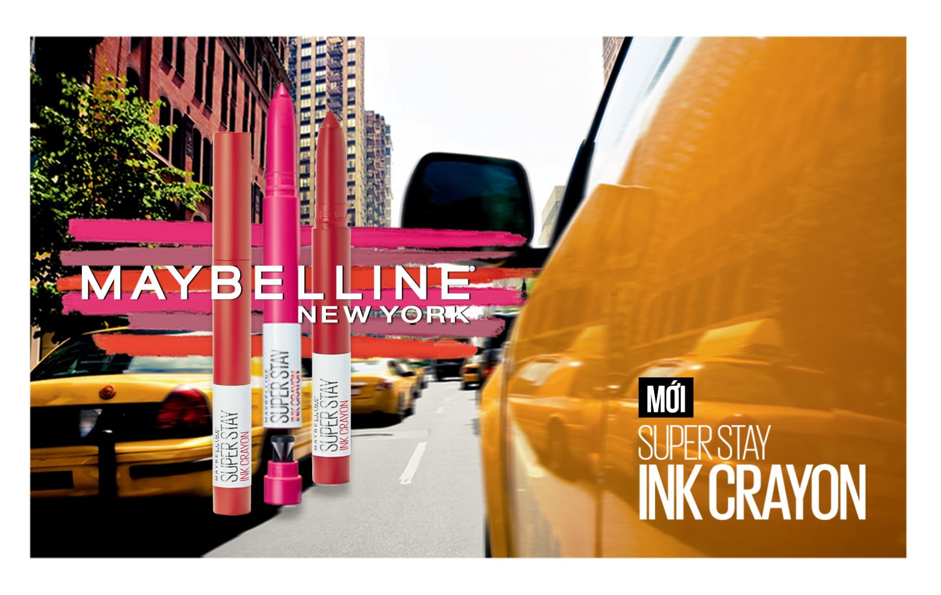 Son Bút Chì Mịn Lì 8h Lâu Trôi Maybelline Super Stay Ink Crayon 1.2g