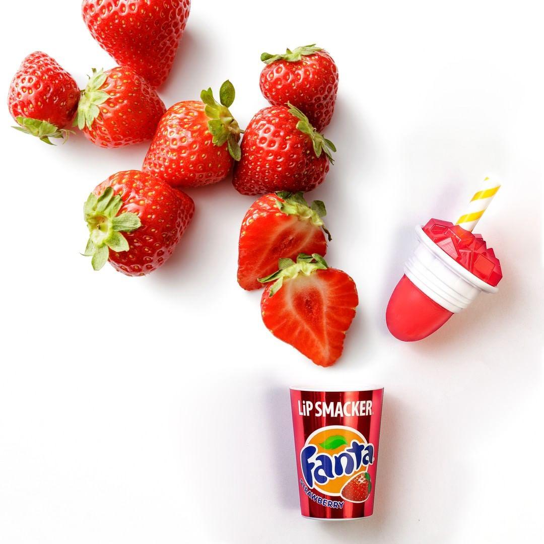 Mua Son Lip Smacker Fanta Strawberry Cup Lip Balm Cốc Fanta Vị Dâu tại Hasaki