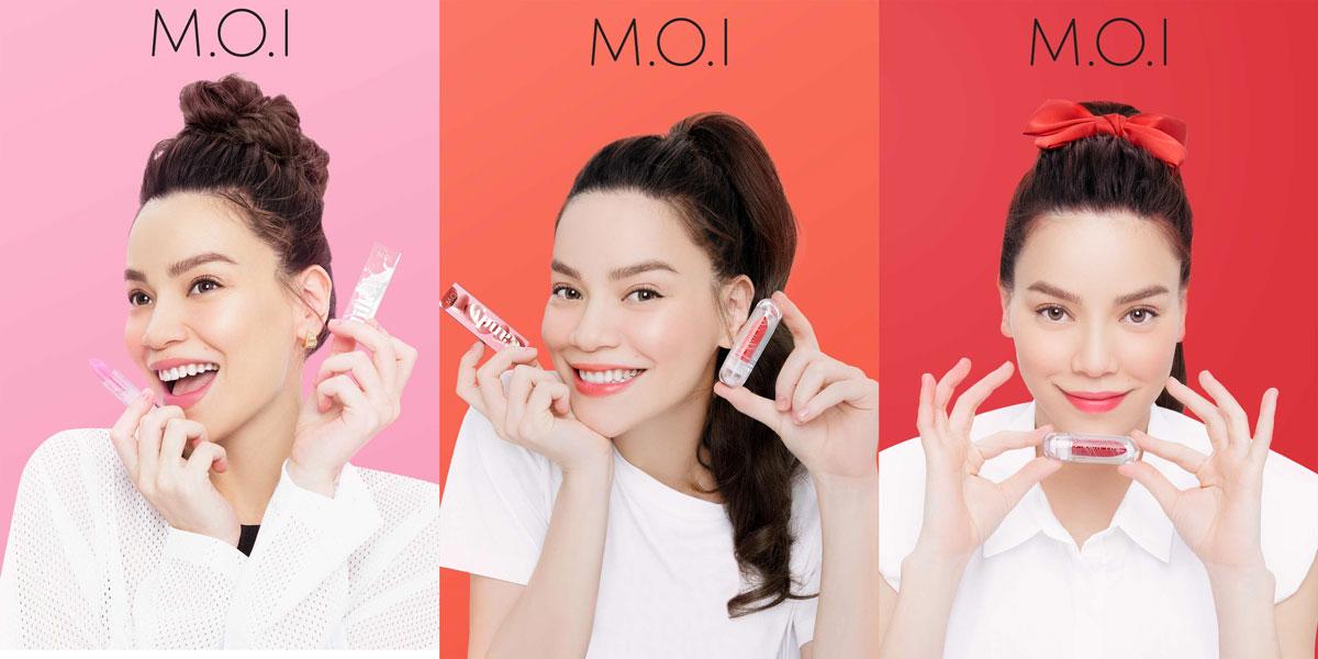 Bộ Sưu Tập Son Dưỡng Có Màu M.O.I Magic Lips