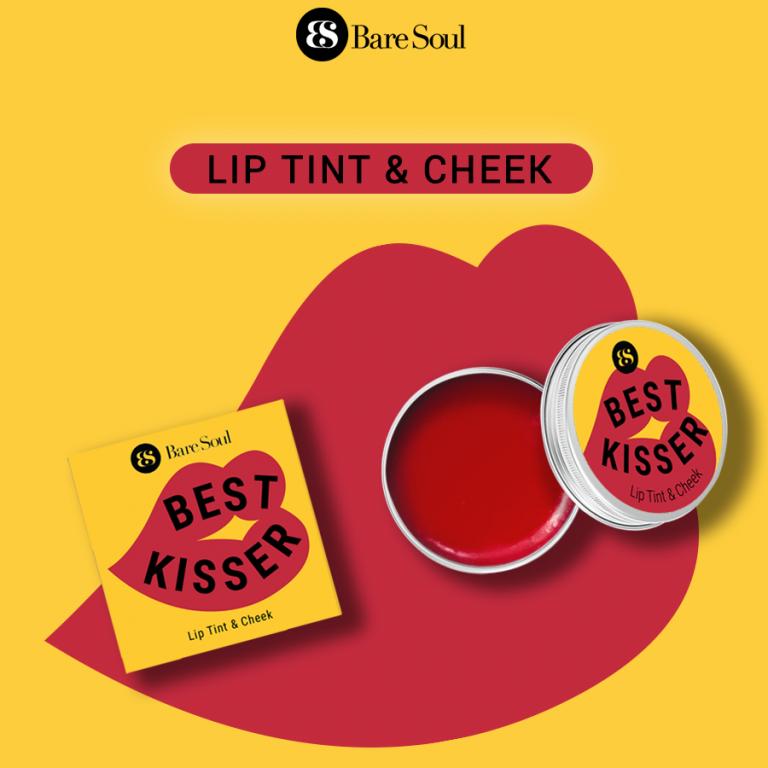 Son Dưỡng Môi Có Màu Kiêm Má Hồng BareSoul Best Kisser Lip Tint & Cheek